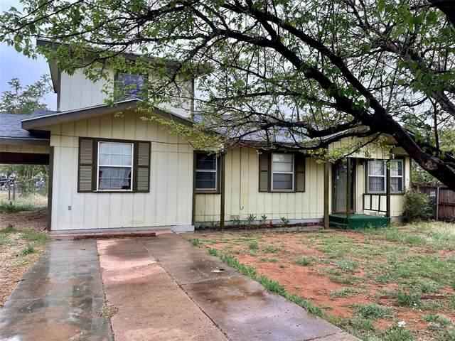 708 Murrah Street, Sweetwater, TX 79556 (MLS #14556715) :: The Barrientos Group