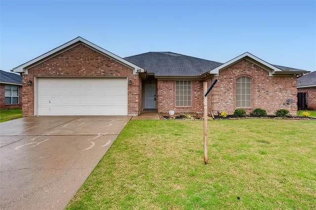 412 Marybeth Drive, Burleson, TX 76028 (MLS #14556926) :: Wood Real Estate Group
