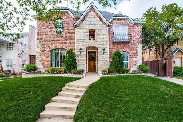 5935 Lewis Street, Dallas, TX 75206 (MLS #14556974) :: The Heyl Group at Keller Williams