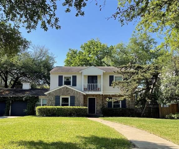 7608 Southwestern Boulevard, Dallas, TX 75225 (MLS #14557481) :: Wood Real Estate Group