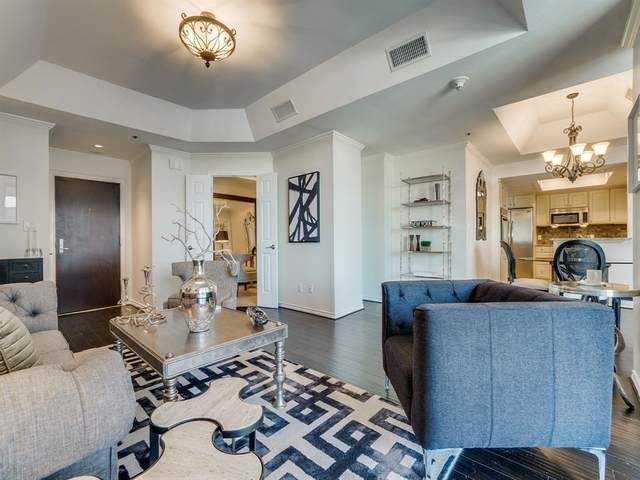 5909 Luther Lane #1702, Dallas, TX 75225 (MLS #14557528) :: The Mauelshagen Group