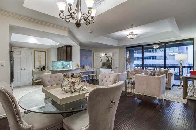 5909 Luther Lane #1900, Dallas, TX 75225 (MLS #14557536) :: Real Estate By Design