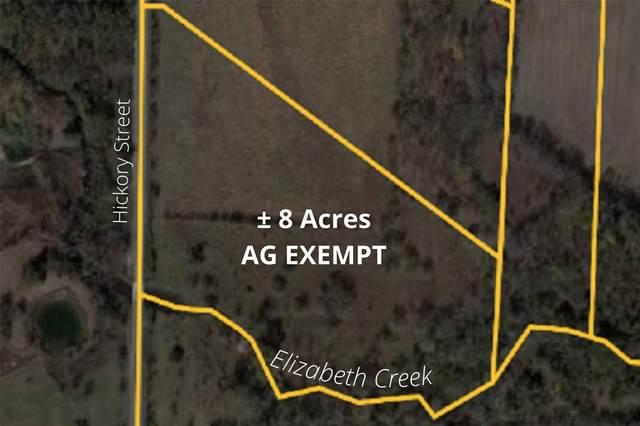 #2 Hickory Street, Rhome, TX 76078 (MLS #14557566) :: Trinity Premier Properties