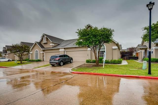 8400 Hickory Street #4402, Frisco, TX 75034 (MLS #14557759) :: The Rhodes Team