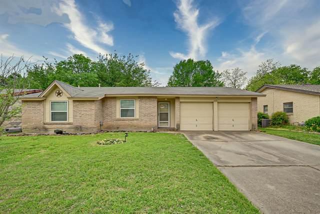 1206 Shelmar Drive, Arlington, TX 76014 (MLS #14557896) :: The Tierny Jordan Network