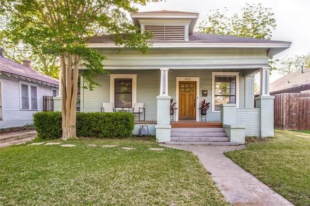 413 S Brighton Avenue, Dallas, TX 75208 (MLS #14558046) :: Wood Real Estate Group