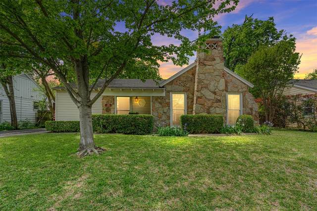 4343 Camden Avenue, Dallas, TX 75206 (MLS #14558319) :: The Mauelshagen Group