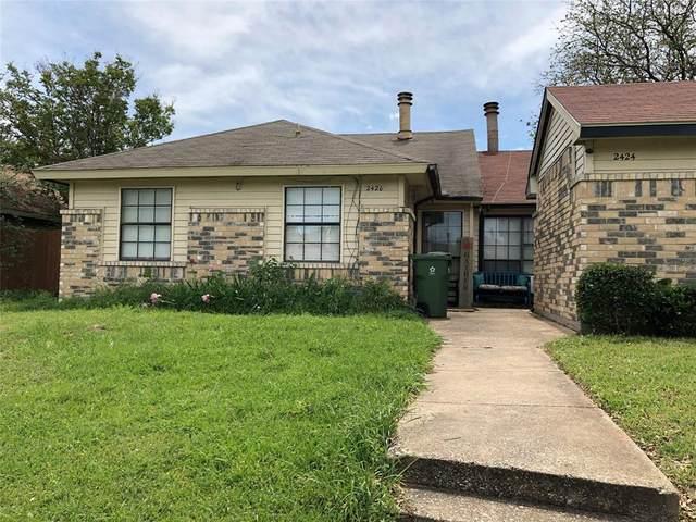 2424 E Timberview Lane, Arlington, TX 76014 (MLS #14558468) :: The Mitchell Group