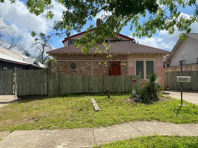 508 S Brighton Avenue, Dallas, TX 75208 (MLS #14558635) :: The Rhodes Team