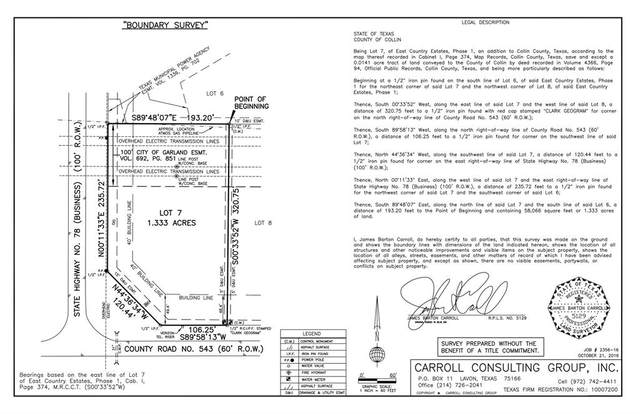 000 Bstate Hwy 78 & Cr 543 Highway, Nevada, TX 75173 (MLS #14559099) :: Real Estate By Design