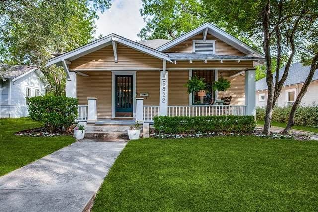 5822 Worth Street, Dallas, TX 75214 (MLS #14559208) :: Wood Real Estate Group
