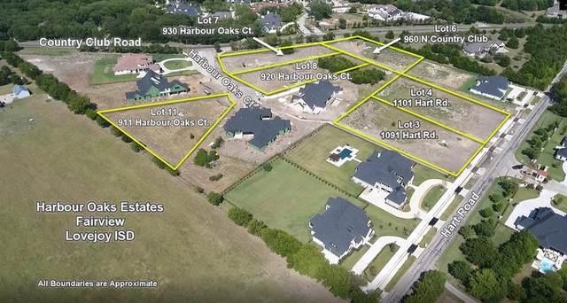 930 Harbour Oaks Court, Fairview, TX 75069 (MLS #14559497) :: Frankie Arthur Real Estate