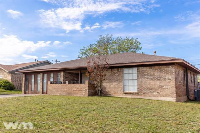 2826 S 40th Street, Abilene, TX 79605 (MLS #14559529) :: Wood Real Estate Group