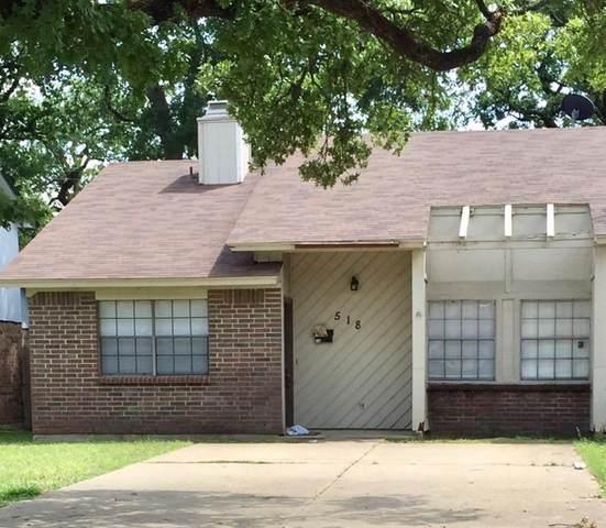 518 Briaroaks Court, Arlington, TX 76011 (MLS #14559692) :: The Mitchell Group