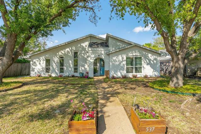 537 Santa Cruz Drive, Garland, TX 75043 (MLS #14559750) :: The Chad Smith Team