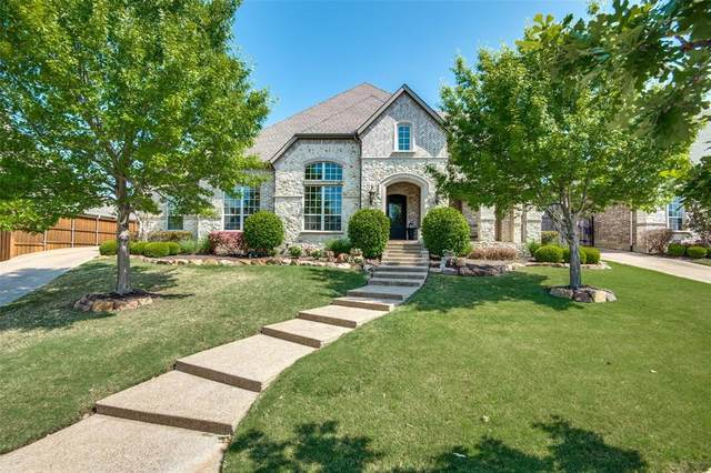 2831 Seven Shields Lane, Lewisville, TX 75056 (MLS #14559933) :: The Mauelshagen Group