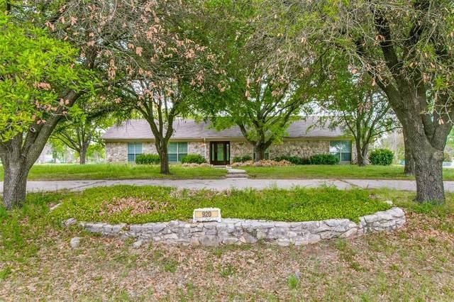 920 Brush Creek Road, Argyle, TX 76226 (MLS #14560350) :: Wood Real Estate Group