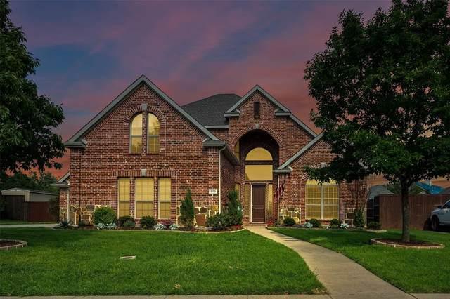 220 Sandstone Drive, Prosper, TX 75078 (MLS #14560409) :: The Mauelshagen Group