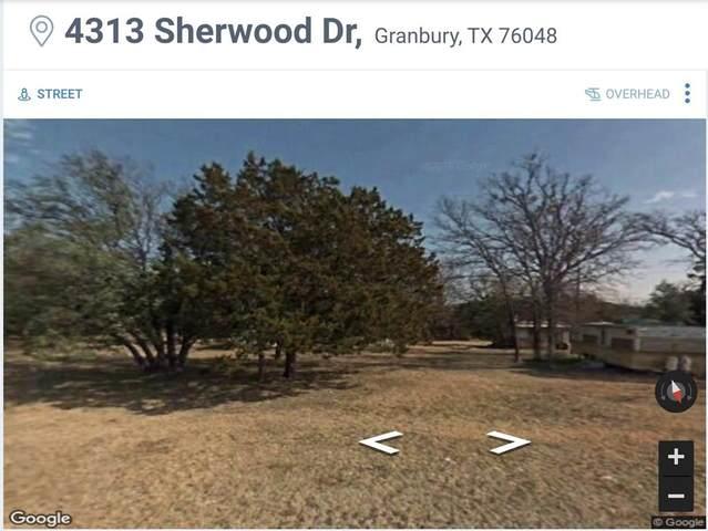 4313 Sherwood Drive, Granbury, TX 76048 (MLS #14560559) :: Craig Properties Group
