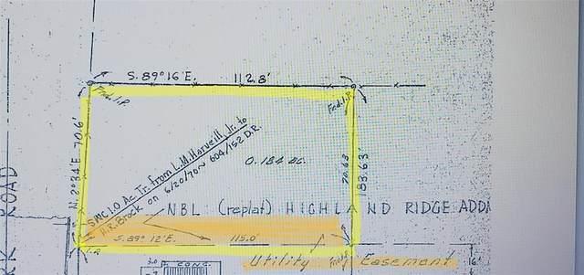 TBD Highland Park Road, Denton, TX 76205 (MLS #14561003) :: Real Estate By Design