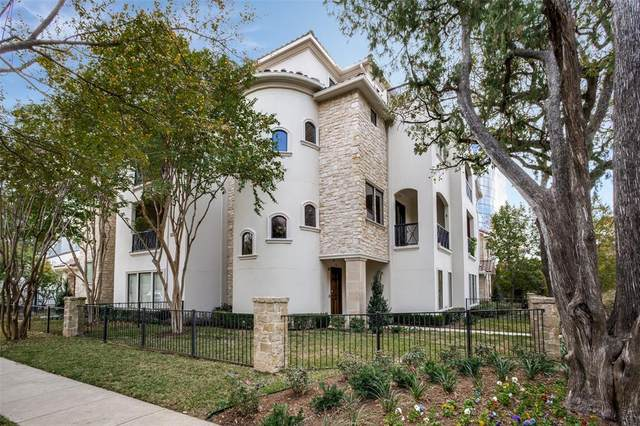3535 Routh Street C, Dallas, TX 75219 (MLS #14561085) :: The Mauelshagen Group