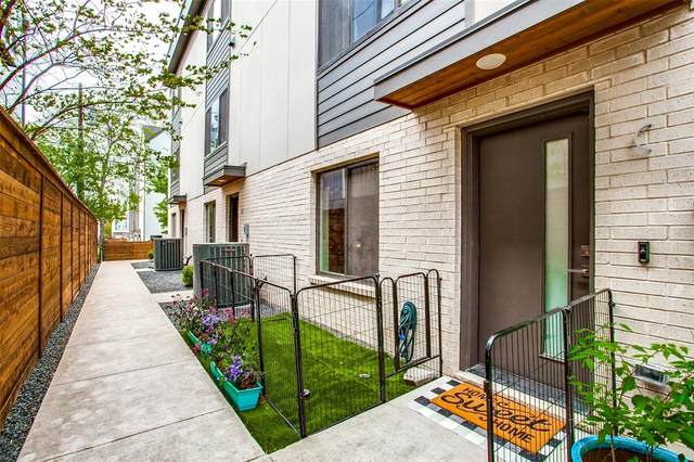 5604 Lindell Avenue C, Dallas, TX 75206 (MLS #14561117) :: All Cities USA Realty