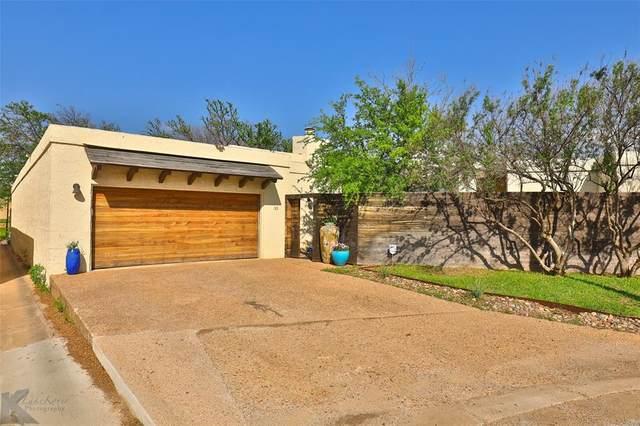 33 Tamarisk Circle, Abilene, TX 79606 (MLS #14561360) :: Team Hodnett
