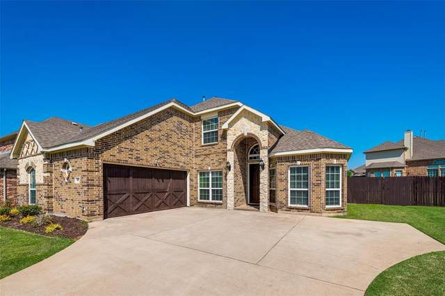 407 Fountain Court, Kennedale, TX 76060 (MLS #14561409) :: Wood Real Estate Group