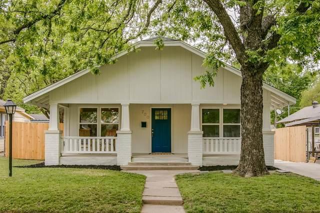 700 Cristler Avenue, Dallas, TX 75223 (MLS #14561410) :: The Mauelshagen Group