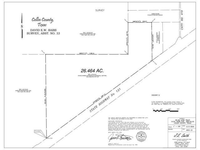 HWY 121 E Sam Rayburn Highway E, Melissa, TX 75454 (MLS #14561553) :: The Kimberly Davis Group