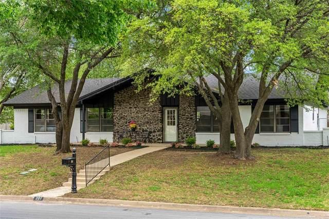 201 Cooper Drive, Hurst, TX 76053 (MLS #14561767) :: The Heyl Group at Keller Williams