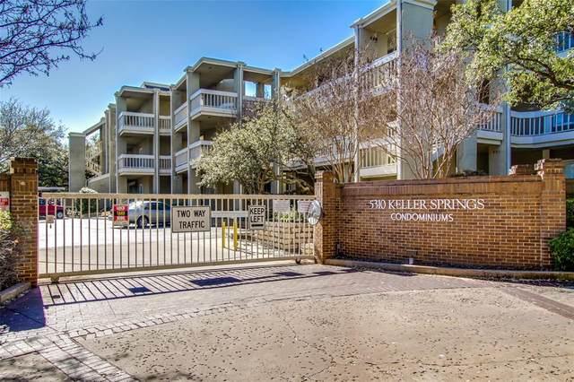 5310 Keller Springs Road #136, Dallas, TX 75248 (MLS #14562173) :: The Star Team | JP & Associates Realtors