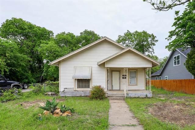 1215 E Robert Street, Fort Worth, TX 76104 (MLS #14562227) :: Real Estate By Design