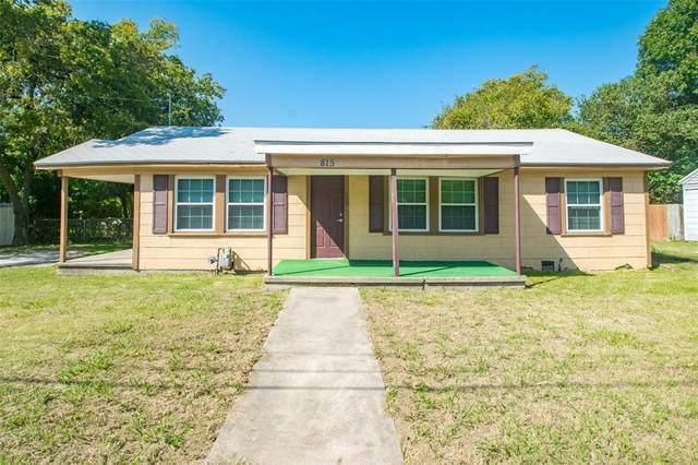 815 N Carroll Boulevard, Denton, TX 76201 (MLS #14562441) :: Real Estate By Design