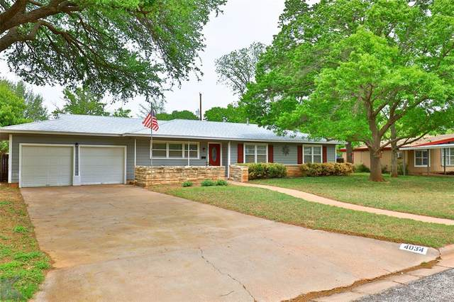 4034 Stratford Street, Abilene, TX 79605 (MLS #14562666) :: The Juli Black Team