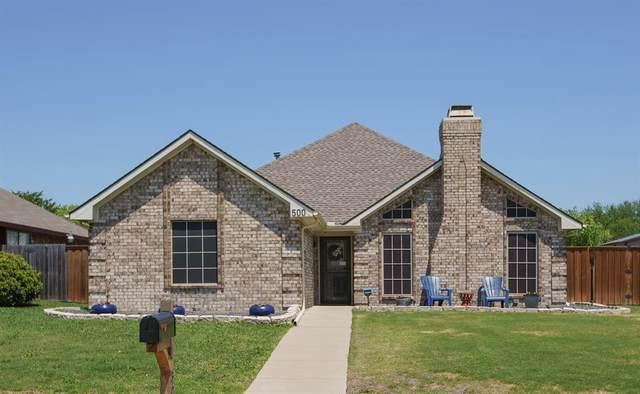 500 W Jefferson Street, Wylie, TX 75098 (MLS #14563105) :: Wood Real Estate Group