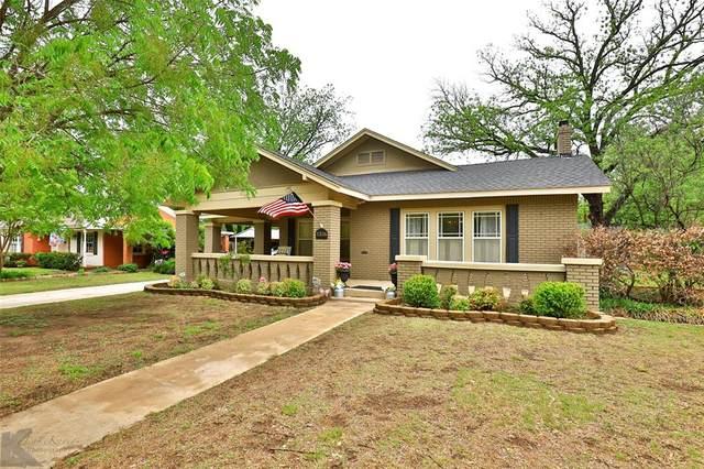 1326 Highland Avenue, Abilene, TX 79605 (MLS #14563306) :: Wood Real Estate Group