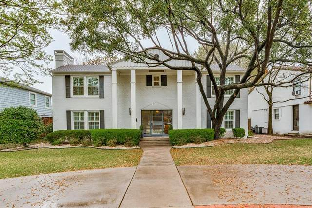 5515 W University Boulevard, Dallas, TX 75209 (MLS #14563310) :: Wood Real Estate Group