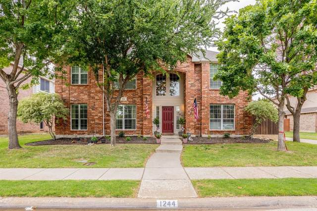 1244 Logan Drive, Lewisville, TX 75077 (MLS #14563347) :: Front Real Estate Co.