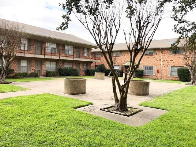 3611 Parkridge #102, Dallas, TX 75234 (MLS #14563499) :: The Tierny Jordan Network