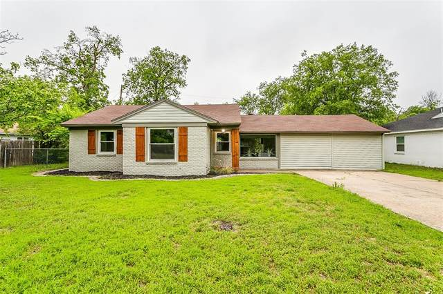 3451 Suffolk Drive, Fort Worth, TX 76109 (MLS #14563637) :: Real Estate By Design