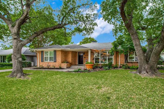 6240 Saratoga Circle, Dallas, TX 75214 (MLS #14563660) :: Wood Real Estate Group