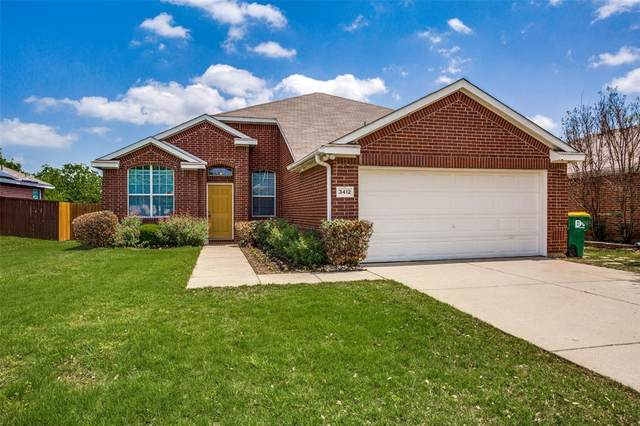 3412 Beatriz Drive, Denton, TX 76207 (#14563744) :: Homes By Lainie Real Estate Group