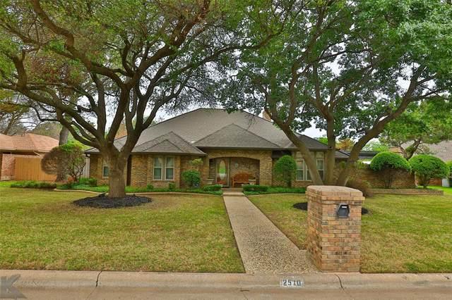 2510 Crestline Drive, Abilene, TX 79602 (MLS #14563820) :: Rafter H Realty
