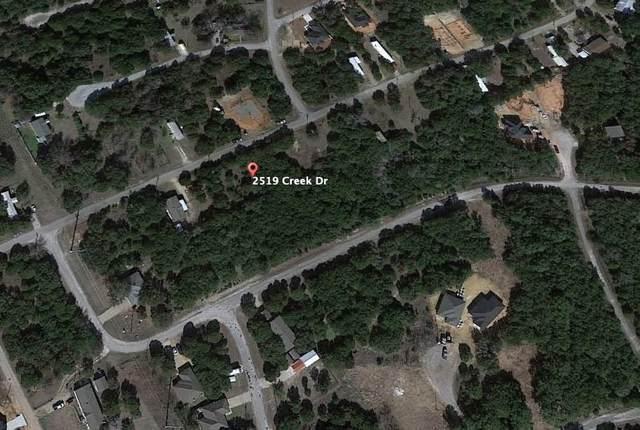 2519 Creek Drive, Granbury, TX 76048 (MLS #14563850) :: Wood Real Estate Group
