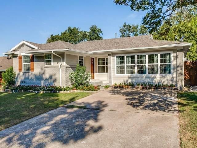 7753 Goforth Circle, Dallas, TX 75238 (MLS #14563903) :: The Kimberly Davis Group