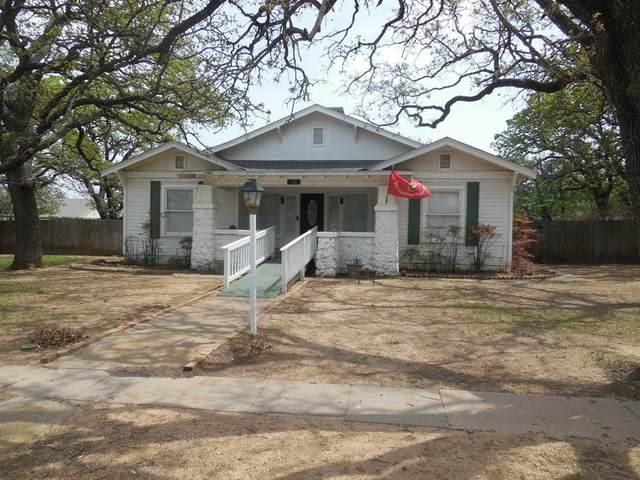 710 E 21st Street, Cisco, TX 76437 (MLS #14563976) :: RE/MAX Landmark