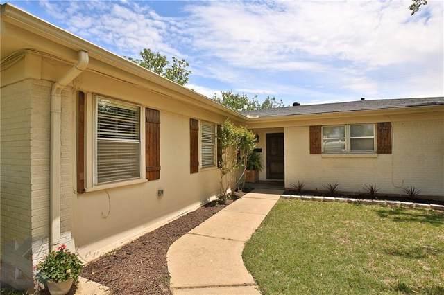 2425 Ivanhoe Lane, Abilene, TX 79605 (MLS #14564074) :: Wood Real Estate Group