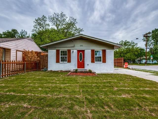 501 Roberts Avenue, Irving, TX 75060 (MLS #14564163) :: Wood Real Estate Group