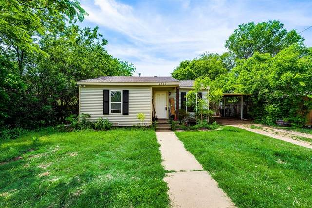 2522 High Crest Avenue, Fort Worth, TX 76111 (MLS #14564464) :: The Kimberly Davis Group
